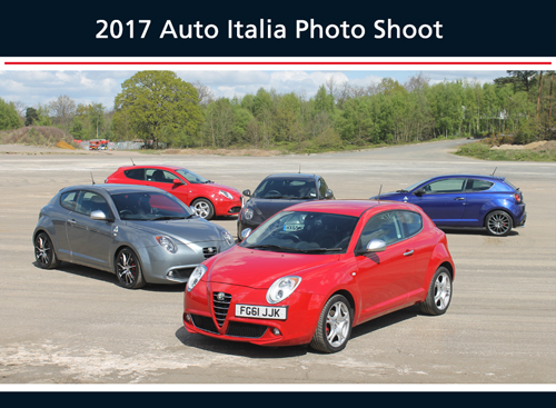 2017 Auto Italia Photo Shoot